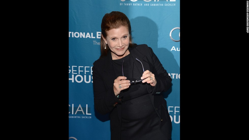 "May the birthday force be with Carrie Fisher! The ""Star Wars"" actress celebrates her 58th birthday on Tuesday, October 21, and <a href='http://www.dailymail.co.uk/tvshowbiz/article-2801268/carrie-fisher-celebrates-turning-58-dines-harrison-ford-star-wars-episode-vii-stars.html' target='_blank'>was seen partying with her ""Star Wars: Episode VII""</a> co-stars. The actress has recently gotten in top shape, <a href='http://www.today.com/popculture/metal-bikini-time-carrie-fisher-has-lost-40-pounds-star-2D79639086' target='_blank'>perhaps to slip into that famous metal bikini</a> once again. Here are more famous faces who are making the fifth decade of life look good."