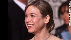Renee Zellweger appears at the 58th Annual Golden Globe Awards in Los Angeles in January 2001.