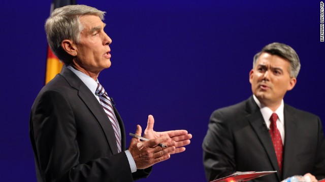 Udall and Gardner have faced off in several televised debates.