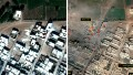Kobani: Before and after views