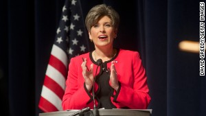 Poll: Republican Ernst has small lead in tight Iowa Senate race