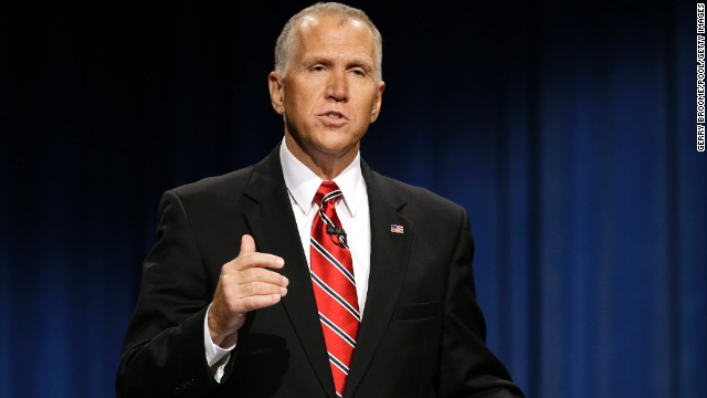 Tillis focused much of his campaign on criticism of Hagan's support for Obama's agenda.