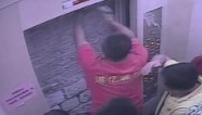 Man chisels his way out elevator