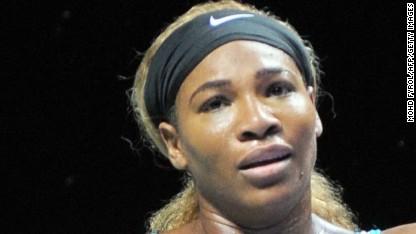 Tennis: Serena's joint worst defeat