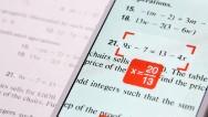 App resuelve ecuaciones con la cámara del teléfono