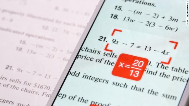 作弊神器PhotoMath:轻松解决数学计算难题