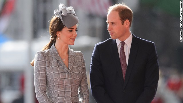 Britain's Catherine, Duchess of Cambridge, joins Prince William at a ceremony in London on October 21. She has struggled with <a href='http://www.cnn.com/2014/09/16/health/hyperemesis-gravidarum/'>severe morning sickness</a>, and it was her first public appearance since <a href='http://www.cnn.com/2014/09/08/world/europe/uk-royal-pregnancy/index.html?hpt=hp_t1' target='_blank'>Buckingham Palace announced</a> that the pair are awaiting baby No. 2 in April.