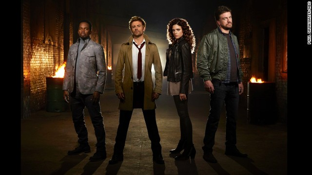 <strong>Jury's still out:</strong> NBC's version of comic hero John Constantine is carrying the weight of high expectations. Not only is the drama -- which stars Matt Ryan, second from left, as the titular demon hunter -- trying to live up to its source material, it's still in the shadow of an unfortunate 2005 movie. The TV version isn't faring much better; in late November, NBC decided to stop production on the series and keep the first season at just 13 episodes.