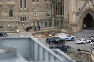 Tiroteo en el Parlamento de Canadá