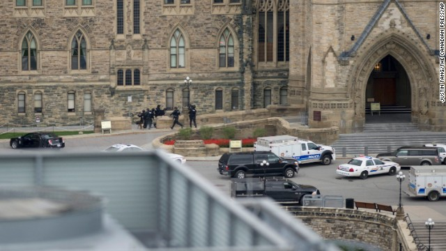 Gunshots at Canada\'s Parliament