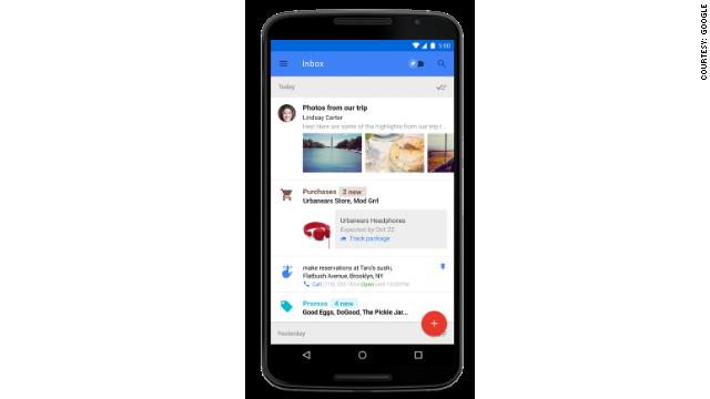 Conoce 'Inbox', el nuevo correo de Google