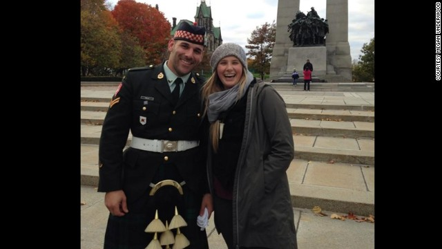 Cpl. Nathan Cirillo on Sunday.