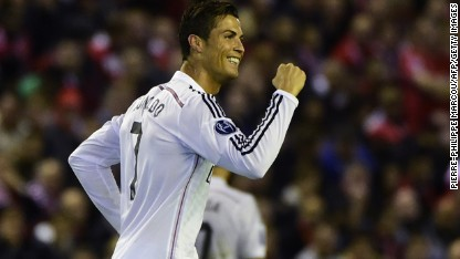 Football: Real Madrid crushes Liverpool