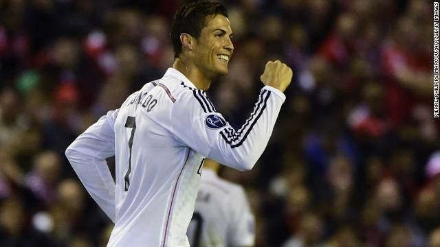 Cristiano Ronaldo -- Real Madrid/Portugal.