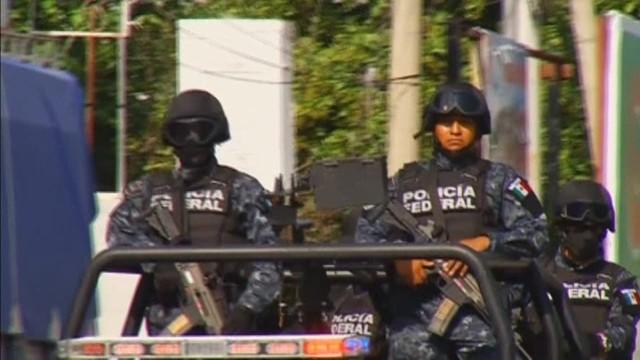 Autoridades buscan en Cocula a los 43 normalistas desaparecidos en México