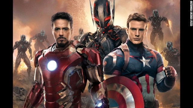 "Marvel and Disney have unleashed the first official trailer for the next ""Avengers"" movie, not long after a leaked version made its way online. The first ""Avengers"" movie, released in 2012, is the third highest-grossing movie of all time. Click through to see more of our favorite movie superheroes."