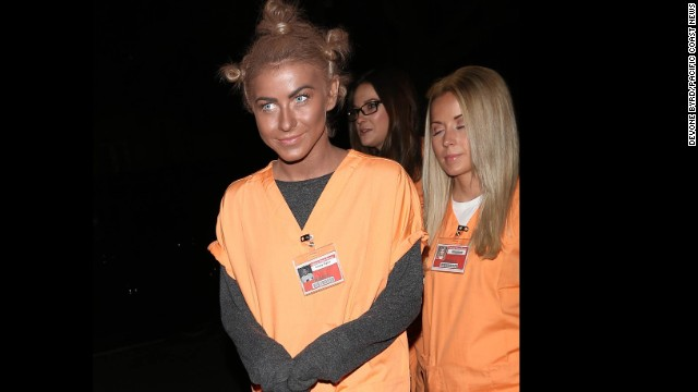"Rule 1: No blackface. Actress and dancer Julianne Hough learned this rule the hard way when she <a href='http://www.cnn.com/2013/10/29/showbiz/celebrity-news-gossip/julianne-hough-blackface-dwts/'>dressed</a> as ""Orange is the New Black"" character ""Crazy Eyes"" for Halloween in 2013. ""It certainly was never my intention to be disrespectful or demeaning to anyone in any way. I realize my costume hurt and offended people and I truly apologize,"" Hough said via Twitter."