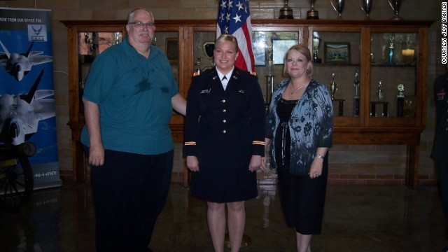 Shortly after his daughter's military commissioning ceremony in August 2010, Baxter decided to make a change. He had the weight-loss surgery in January 2011.