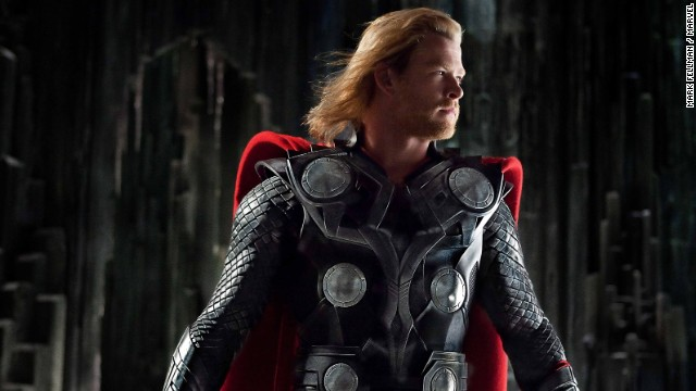 Chris Hemsworth played Thor in the 2011 film of the same name. There was also a sequel in 2013, and Thor, of course, is one of the Avengers.