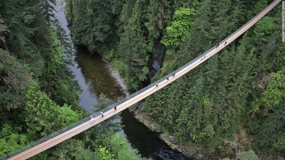 Puente colgante de Capilano (Vancouver)