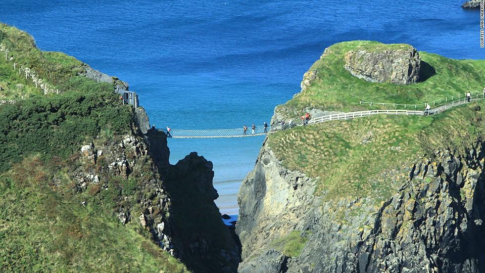 Puente colgante de cuerdas Carrick-a-rede (Irlanda del Norte)