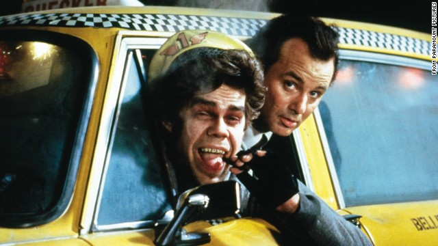 """Scrooged"" with Bill Murray and David Johansen ""... <a href='http://www.rogerebert.com/reviews/scrooged-1988' target='_blank'>was obviously intended as a comedy, but there is little comic about it, and indeed the movie's overriding emotions seem to be pain and anger,"" Ebert wrote. ""You can't bad-mouth 'A Christmas Carol' all the way through and then expect us to believe the good cheer at the end.""</a>"