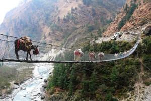Puente Colgante de Ghasa (Nepal)