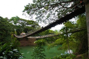 Puente colgante de Tigbao (Filipinas)