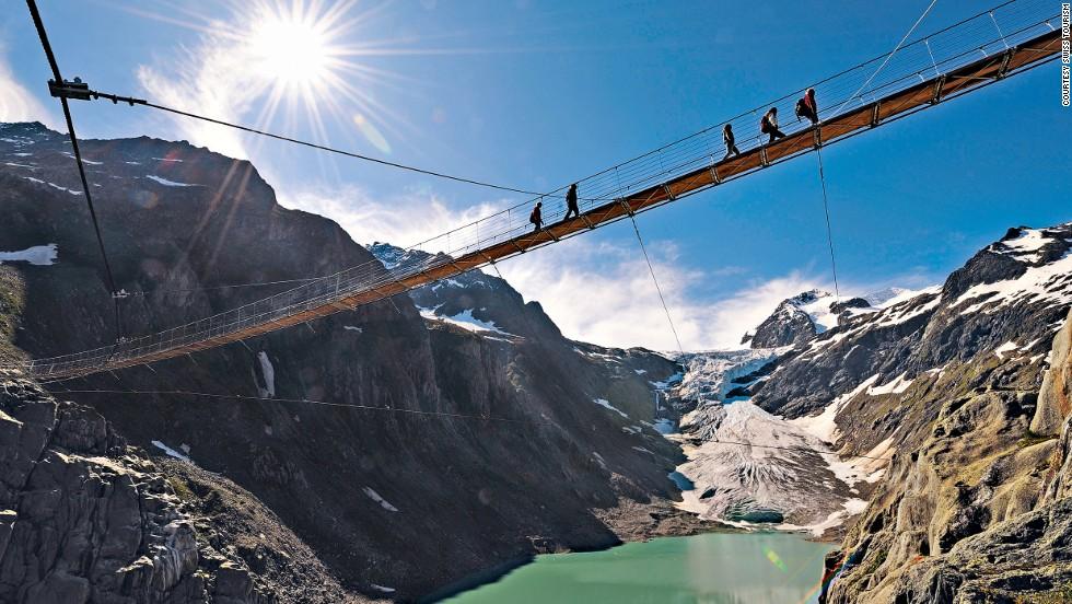 Puente de Trift (Gadmen, Suiza)