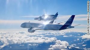 Airbus planes.