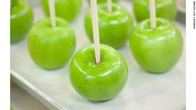 Red-wine caramel apples for Halloween - CNN.com