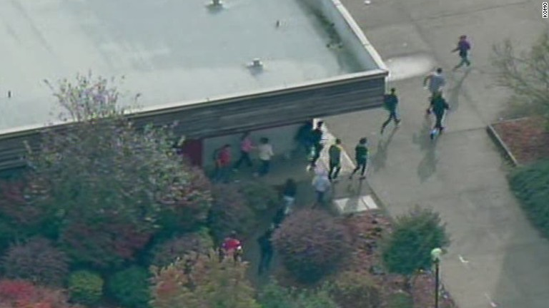 Students flee after reported shooting