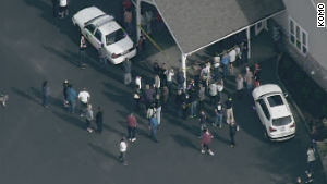 Reported shooting at Wash. high school