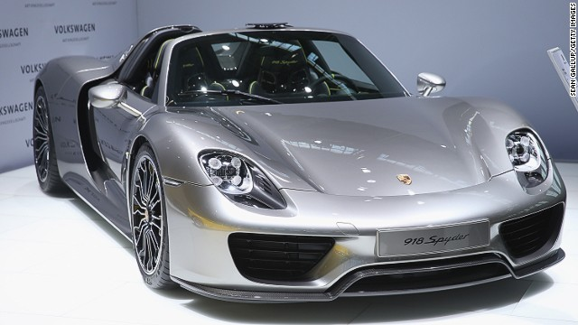 Porsche has unveiled its high-end take on green vehicle production with its Spyder 918, a limited edition hybrid which costs over $1 million.