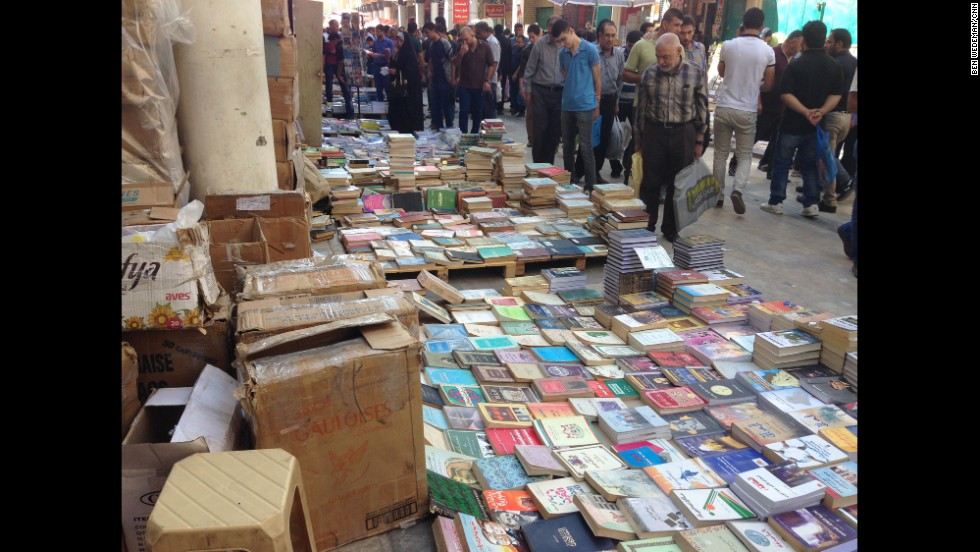 """BAGHDAD, IRAQ: """"Anyone pessimistic about Iraq should visit the book market on Mutanabeh Street in Baghdad. Hundreds of people browse all manner of books, debate every topic under the sun with passion and courtesy, bask in the city's richness and diversity."""" - CNN's Ben Wedeman, October 24. Follow Ben (<a href='http://instagram.com/bcwedeman' target='_blank'>@bcwedeman</a>) and other CNNers along on Instagram at <a href='http://instagram.com/cnn' target='_blank'>instagram.com/cnn</a>."""