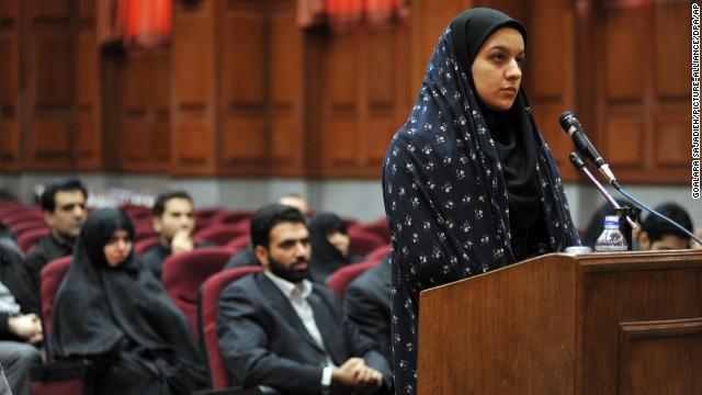 Irán ahorca a una mujer que mató a su violador en defensa propia