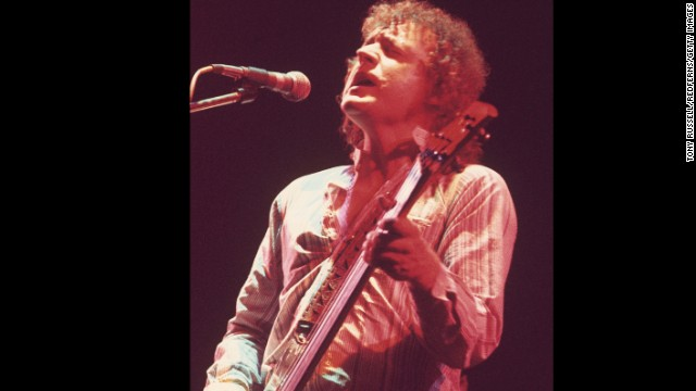 Jack Bruce, bassist for the legendary 1960s rock band Cream, died October 25 at age 71.