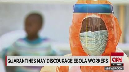 Quarantined nurse slams travel policy