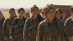 South Asia Muslims condemn ISIS's admission of sexual enslavement 141026004252-lkl-watson-kurdish-female-fighters-00012012-story-body