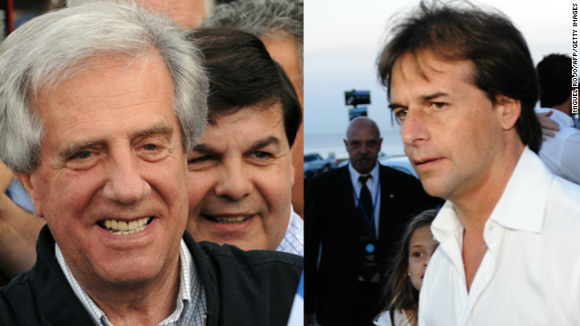 Segunda vuelta en Uruguay: Tabaré Vázquez y Luis Lacalle Pou, elección entre dos visiones