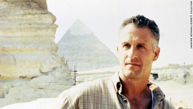 """Rossovich is much better known for appearing as Ron """"Slider"""" Kerner in the 1986 film """"Top Gun."""" He is shown here in the 1997 movie """"Legend of the Lost Tomb."""""""