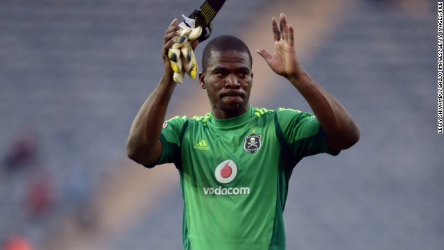 Meyiwa was captain of both South Africa and Orlando Pirates -- a club he first joined as a 13-year-old.