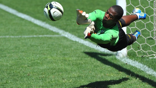 Meyiwa had played in South Africa's last four African Nations Cup qualifiers, keeping four clean sheets in the process.