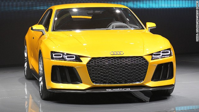 Audi Sport quattro concept is a plug-in hybrid drive which is inspired by the legendary Sport quattro from the 1980s.