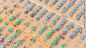 Aerial photos capture the eerie geometry of life