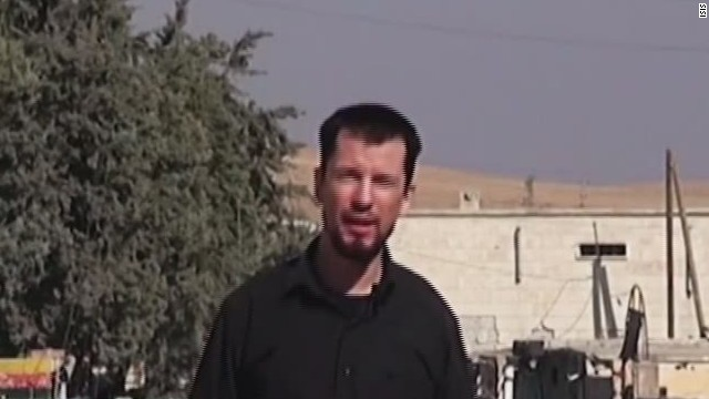 Rehén británico dice en un video que ISIS tiene el control de Kobani