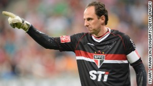 MUNICH, GERMANY - JULY 31: Rogerio Ceni of Sao Paulo gestures during the Audi cup match between FC Bayern Muenchen and FC Sao Paulo at Allianz Arena on July 31, 2013 in Munich, Germany. (Photo by Stuart Franklin/Bongarts/Getty Images)