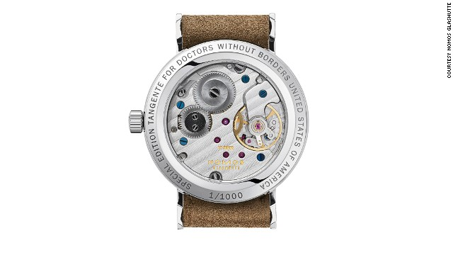 Nomos also produces a series of watches where part of the proceeds are donated to the aid group Doctors Without Borders.