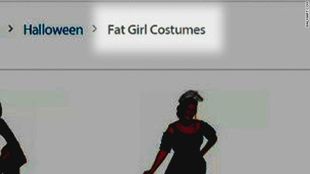 b10759dc21dfd Walmart apologizes for  fat girl  costumes - CNN.com