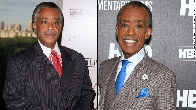 The Rev. Al Sharpton has shed 60% of his body weight over the years, going from 305 pounds to almost 130 pounds. <a href='http://www.nydailynews.com/life-style/incredible-shrinking-sharpton-article-1.1988923' target='_blank'>He told the New York Daily News</a> the he eats two very small meals a day and has cut out a lot of foods from his diet, including meat and sugar.